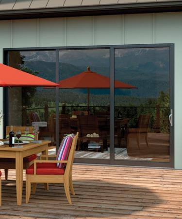 Moving Glass Wall Systems 3 Panel Stacking Patio Door