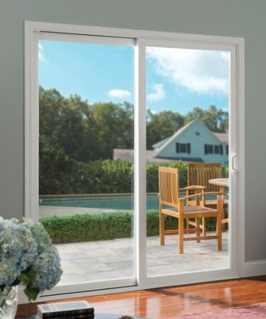 Tuscany Series vinyl sliding patio door