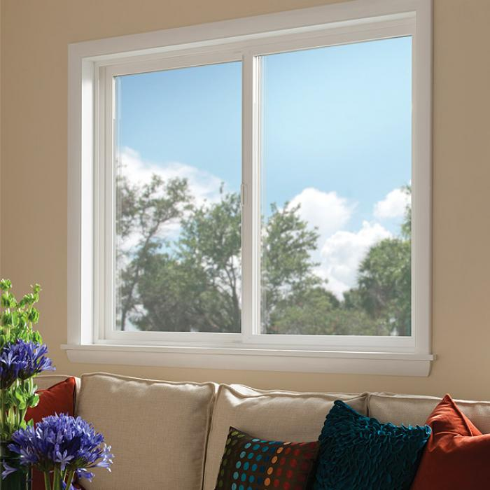 Montecito Series vinyl horizontal slider window