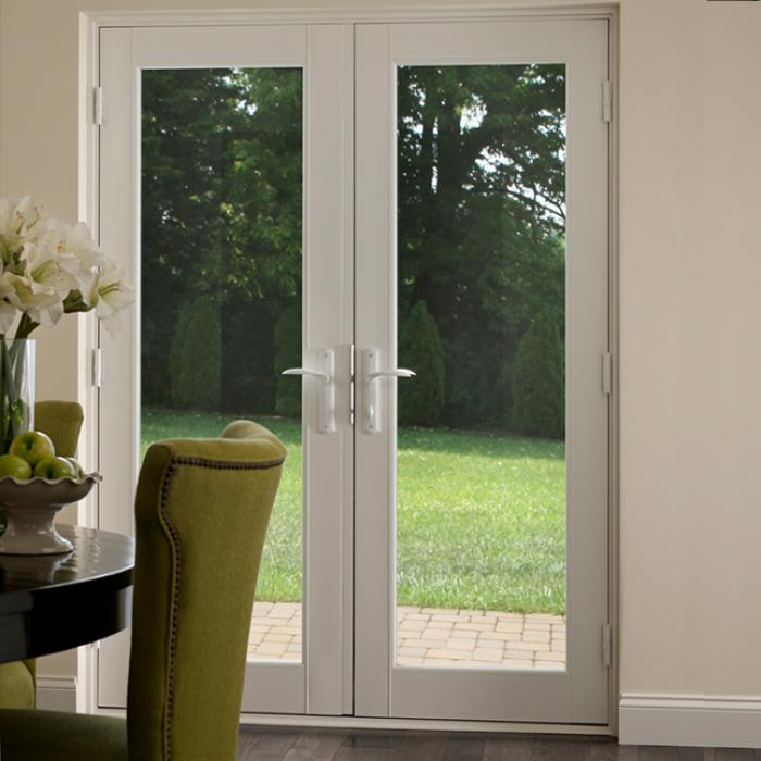 A Beautiful, Premium Vinyl French Door Crafted From Milgardu0027s Proprietary  Formula.