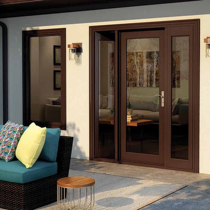 French Out-Swing Patio Door | Wood, Vinyl & Fibergl | Milgard on house plans with soffits, house plans with master retreat, house plans with large pantries, house plans with large rooms, house plans with walk-in closets, house plans with 10 foot ceilings, house plans with pocket doors, house plans with arches, house plans with sunken living room, house plans with sweeping staircase, house plans with grand foyer, house plans with glass, house plans with brick exterior, house plans with wood ceilings, house plans with arched doors, house plans with maids quarters, house plans with sleeping porch, house plans with side porch, house plans with jack and jill bath, french bathroom doors,