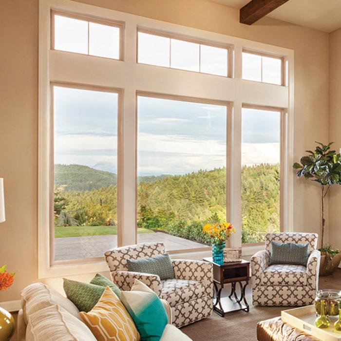 Tuscany Series vinyl picture windows