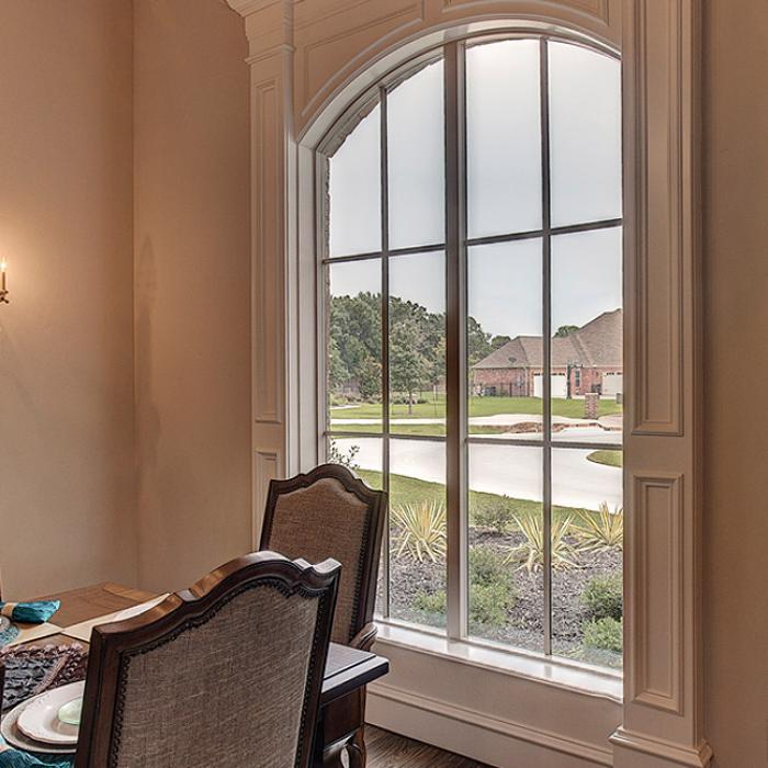 Style Line Series vinyl radius windows