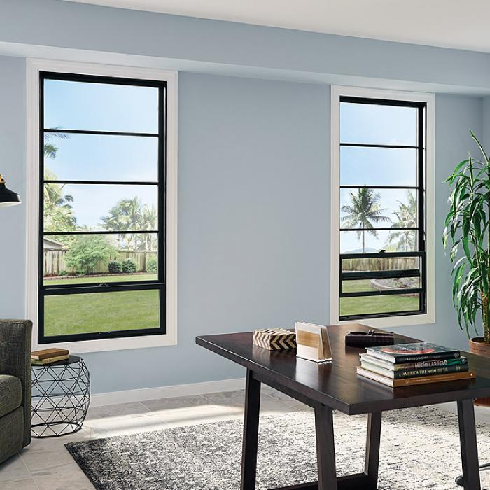 Ultra Series vinyl single hung windows