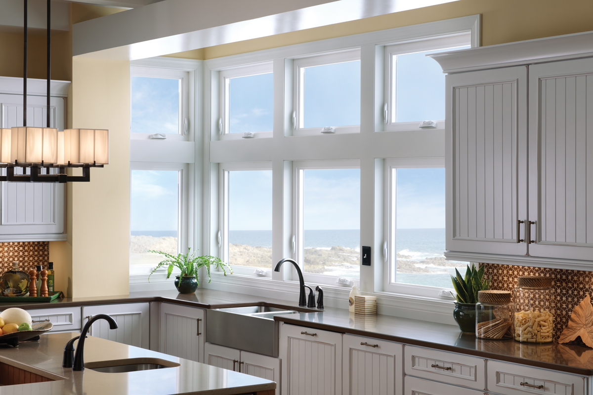 Vinyl Kitchen Windows