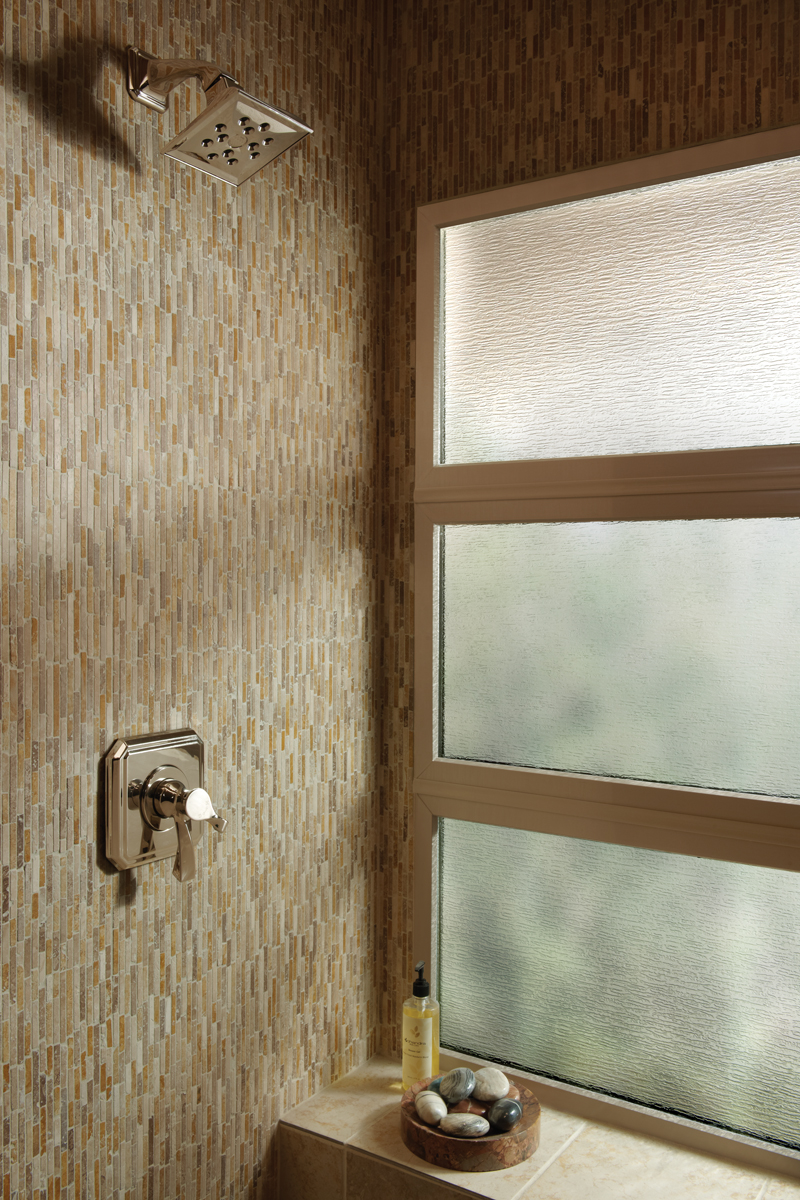 Vinyl Bathroom Windows
