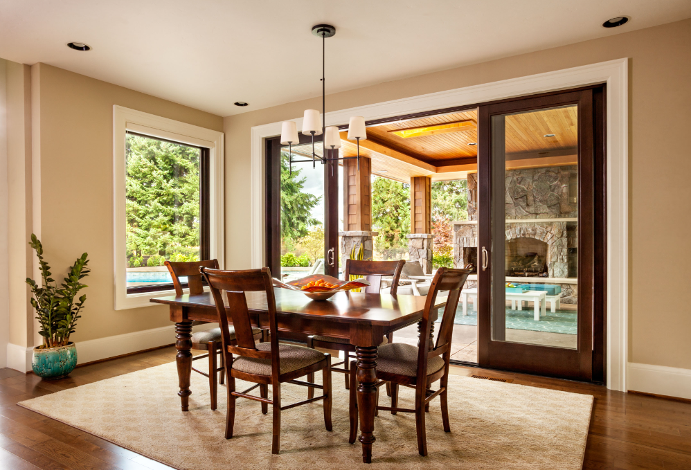Beautiful Wood Patio Doors