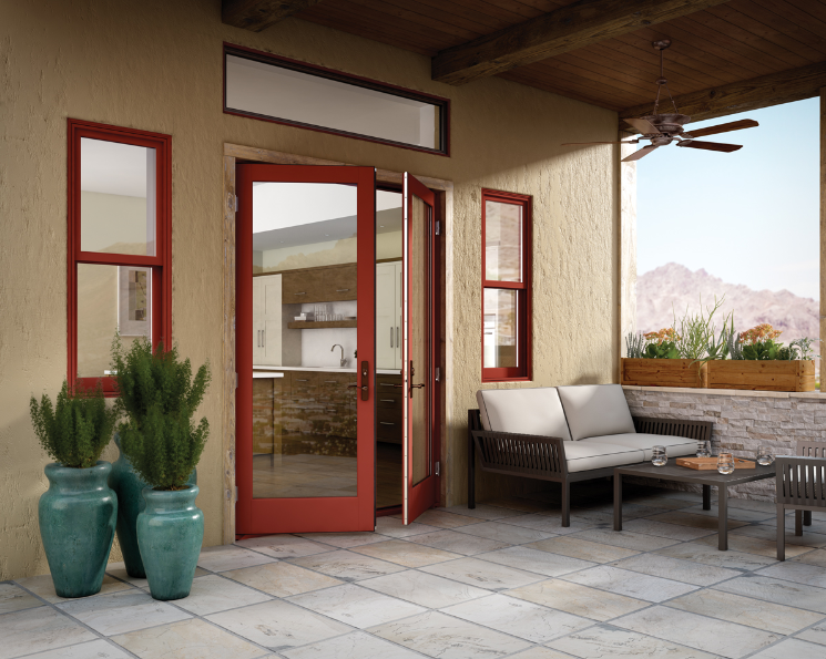 Essence Series French Swing Patio Door