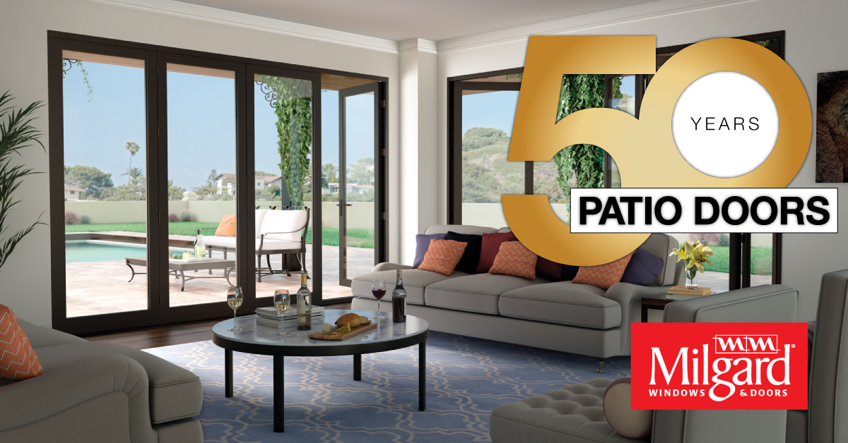 Milgard Celebrates 50 Years Manufacturing Quality Patio