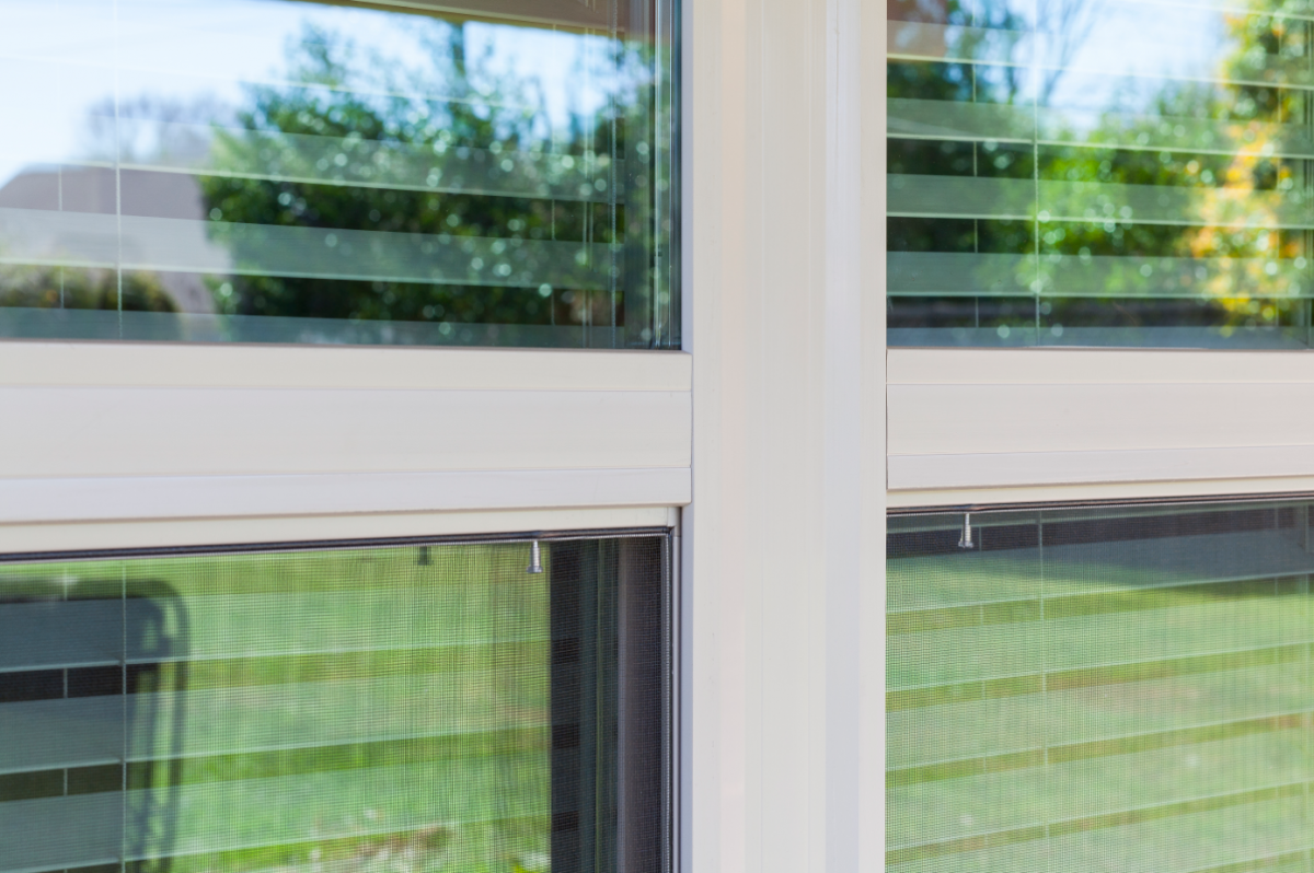 Interior vinyl window trim - The Hermosatm Series Single Hung And Half Vent Vinyl Windows Were Selected Because The Sash Tilts In To Provide Easy Access To Both Sides Of The Glass