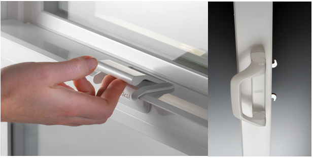 Award winning SmartTouch lock and patio door handle from Milgard
