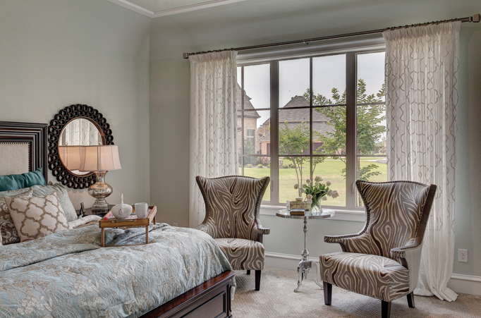 French Country Retreat features Style Line® Vinyl Windows | Milgard