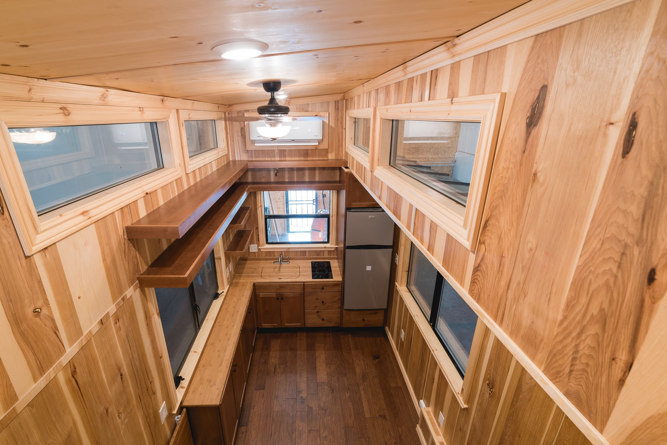 Vinyl windows for tiny home projects