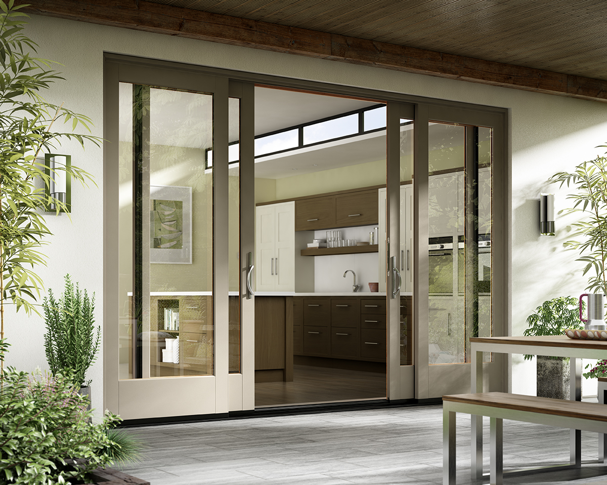 Patio Doors Sliding: Essence Series® Wood French Doors