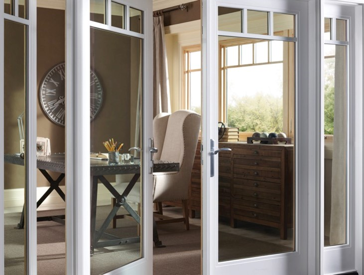 Pair French Doors with Transoms and Sidelights - 4 Unique Ways To Use Patio Doors In The Home Milgard Blog Milgard