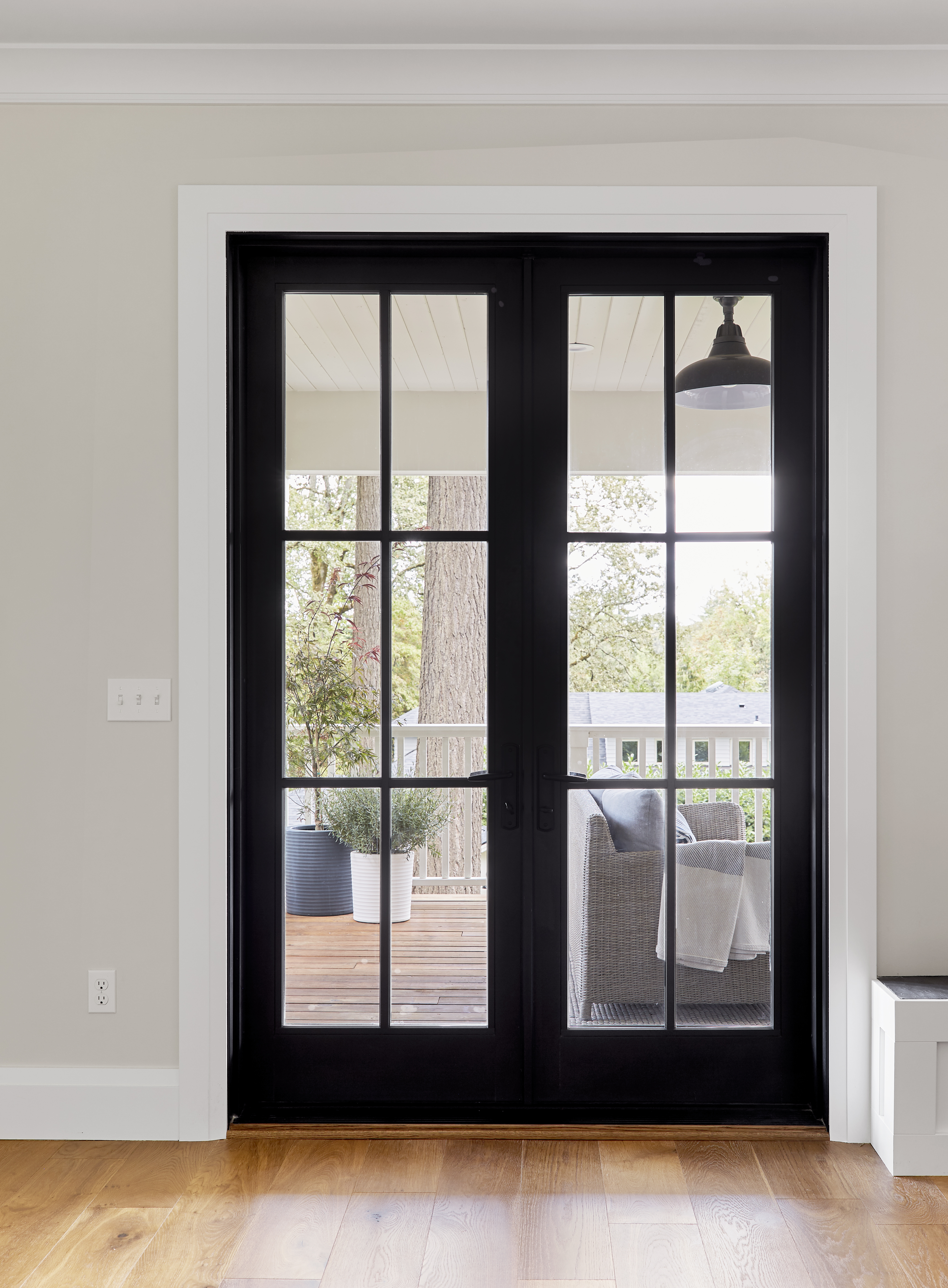 Why We Love These Black Framed Windows And Patio Doors