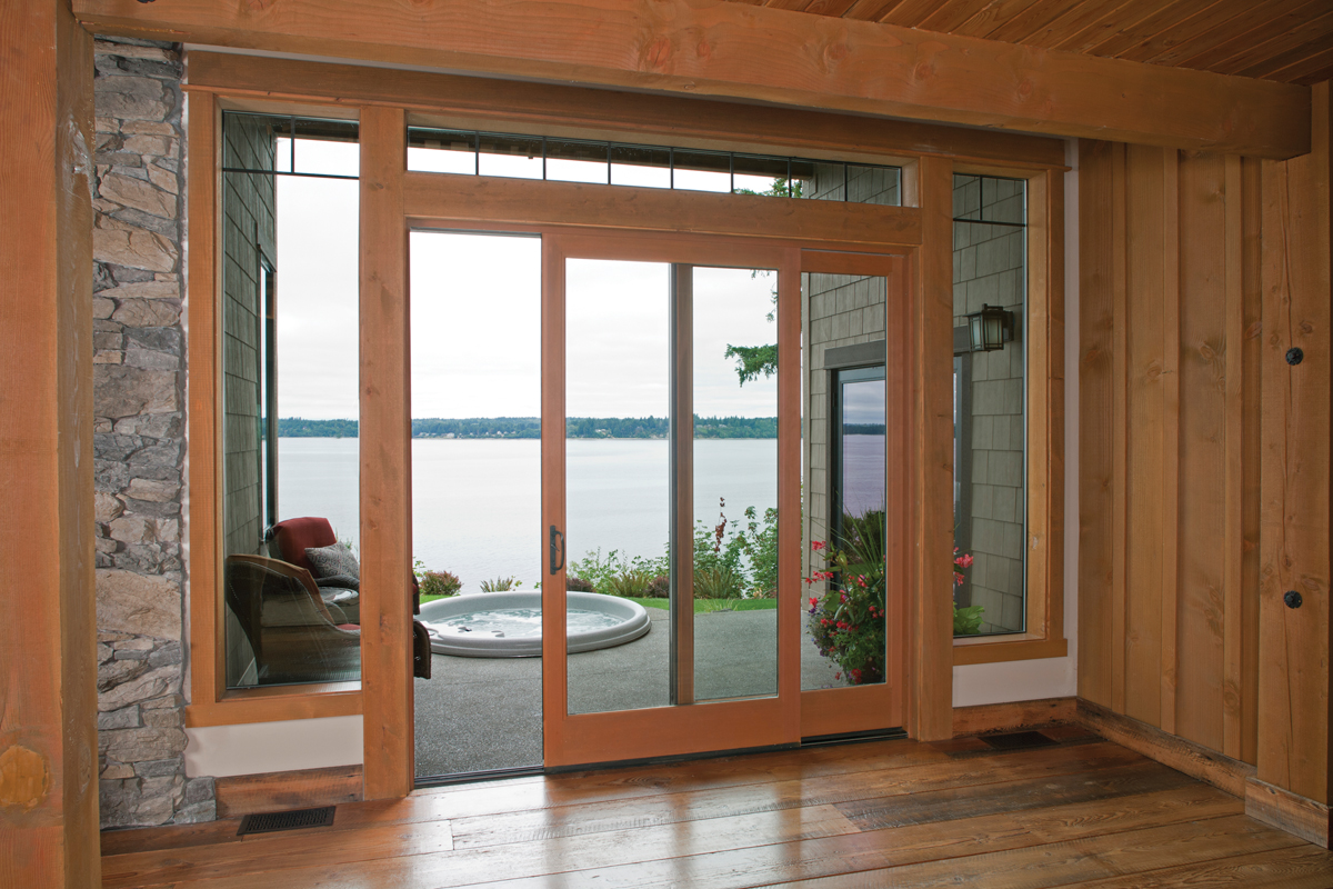 Sliding Sliding Patio Doors Are A Good Solution In Spaces That